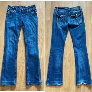 Miss Me Irene boot jeans size 29